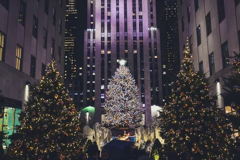 Rockefeller Tree Lighting In New York