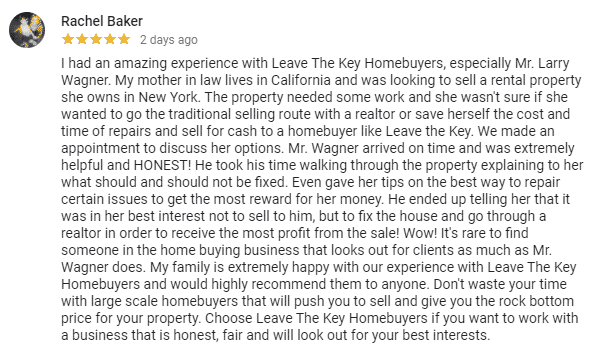 Suffolk County NY Cash Home Buyer Review
