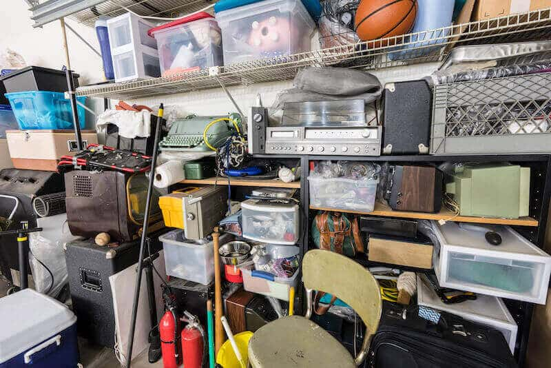 things in a hoarded house for sale